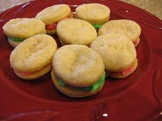 If you are going to make a Christmas cookie this year.....make these little jems. Not only do they look festive, but they taste amazing!  T...