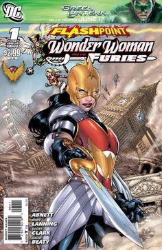 Flashpoint: Wonder Woman and the Furies (DC, 2011) #1 (of 3)