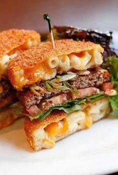Taste The Trend: Make A Mac 'n' Cheese Burger