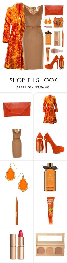Happy Raincoat by nans-g on Polyvore featuring MaxMara, Roberta Di Camerino, ShoeMint, Blu Bijoux, Bare Escentuals, Maybelline, Stila, Charlotte Tilbury, Molton Brown and Chanel