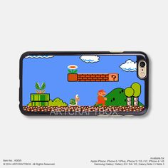 Super Mary Game boy Free Shipping iPhone 6 6 Plus case iPhone 5s case iPhone 5C case 095