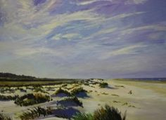 Groene Strand 80 x 80 cm