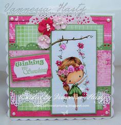 DT Inspiration - Fairy Swing - All Dressed up Challenge blog