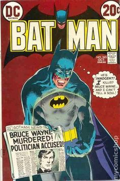 Batman Vol 1 No 245 (DC Comics) 1972 via Etsy