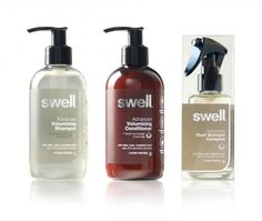 Aloof has designed branding and packaging for Swell, a no compromise natural hair care brand