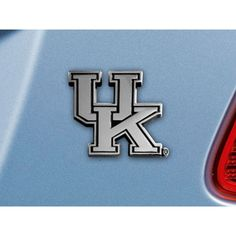 Kentucky Wildcats Chrome Car Emblem (2.3in x 3.7in)