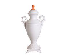 Vase VERSAILLES, blanc et orange Vente Privée Seletti @ Westwing  http://www.homelisty.com/vente-privee-seletti-westwing/