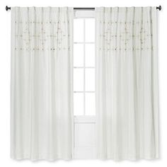 Metallic Embroidered Window Panel - Threshold™ already viewed