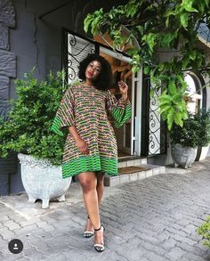 Ankara fabrics at best dress for style inspiration.Ankara fabrics at best dress for style inspiration Exact print available for purchase six yards meters long wax print Cll/Whatsaap 0631252550 to order Short African Dresses, Latest African Fashion Dresses, African Print Dresses, African Print Fashion, Africa Fashion, Ankara Styles For Women, Ankara Long Gown Styles, Ankara Gowns, Ankara Dress