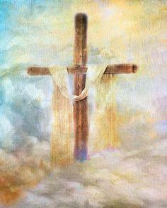 """I will cherish the old rugged cross...""   I love this!  <3"