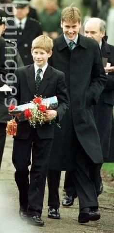 at sandringham christmas 1997