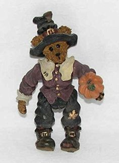 "Amazon.com: Boyds Bear ""Miles Gobble Grizberg"" Shoe Box Bears Collector Figurine: Home & Kitchen Boyds Bears, Teddy Bears, Resins, Collectible Figurines, Shoe Box, Bunny, Plush, Christmas Ornaments, Amazon"