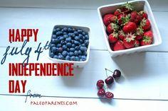 Happy July 4th on Paleo Parents