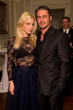 Taylor Kinney and Lauren German of Chicago Fire Cast