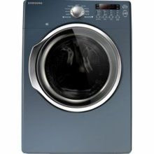 samsung blue 9cycle front load gas dryer