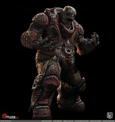 Gears of War 3: Character Portraits - Page 2 - Polycount Forum