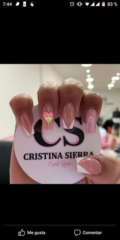 Nail Spa, Manicure, Nail Designs, Sierra, Instagram, Work Nails, Short Nail Manicure, Accent Nails, Pretty Gel Nails