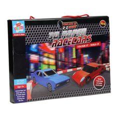 3D Raceauto's Vouwen met Stickers online kopen, snelle levering   Lobbes.nl