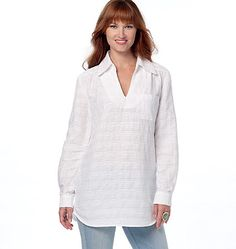 See & Sew tunic pattern from Butterick. B6270, Misses' Top