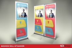 Business Roll-up Banner by NEXDesign on Creative Market