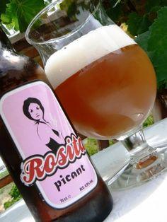 Cerveja Rosita Picant, estilo Spice/Herb/Vegetable Beer, produzida por Cerveses La Gardènia, Espanha. 4.9% ABV de álcool.