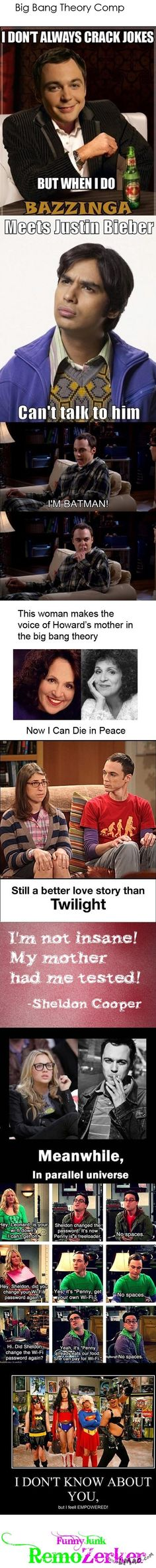Will this make you laugh? Big Bang Theory