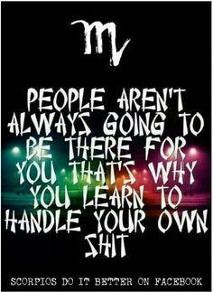 #SCORPIO True that!!!