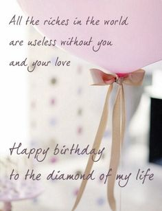 Birthday Wishes For Lover Sweet Quotes Happy Pictures