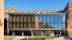 University of Kansas architecture school extension features glass skin