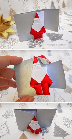 ***Több origami: Karácsonyi
