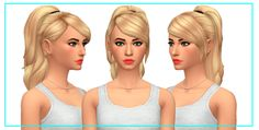 """wackywildsimmerx: """" Hey Guys I am back with another hairstyle this time I am back with a high ponytail. I hope you like it! :) Keep reading """""""
