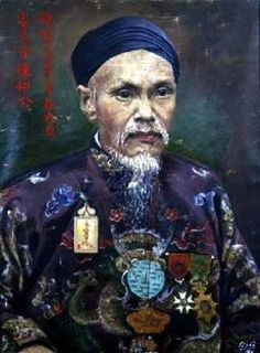 Famous paintings of Portraits: Portrait of Tran Dinh Luong a Mandarin