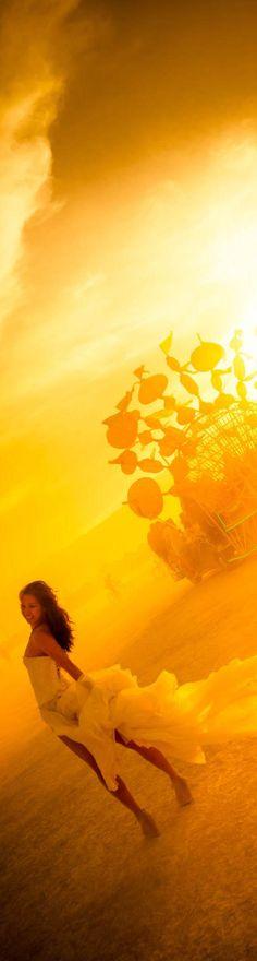 Sandstorm at Burning Man - photo from #treyratcliff Trey Ratcliff at http://www.StuckInCustoms.com #BurningMan