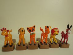 Vintage+1970s+Press+and+Drop+Animal+Toys+by+fjordrodeo+on+Etsy,+$15.00