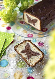 Kinuskikissan leivontakoulussa piilokuviokakku | Unelmien TaloKoti Kuva ja ohje: Sini Visa