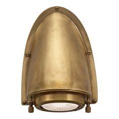 Grant Small Sconce in Natural Brass - Wall Lamps / Sconces - Lighting - Products - Ralph Lauren Home - RalphLaurenHome.com