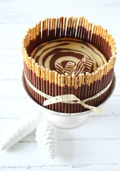 Feines Handwerk Zebrakuchen, Zebratorte, Schokolade, backen, lecker, bakery, torten, Käsekuchen