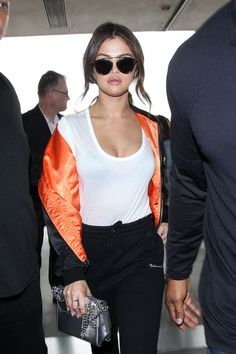 Selena Gomez Fashion, News, Photos and Videos - Vogue Style Selena Gomez, Selena Gomez Cute, Selena Gomez Outfits, Casual Outfits, Cute Outfits, Thing 1, Hollywood, Marie Gomez, My Idol