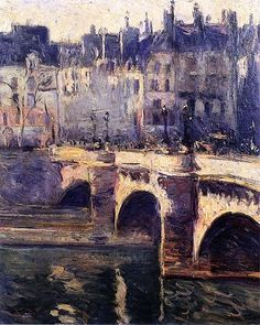 Othon Friesz: Pont Neuf, Paris, 1902