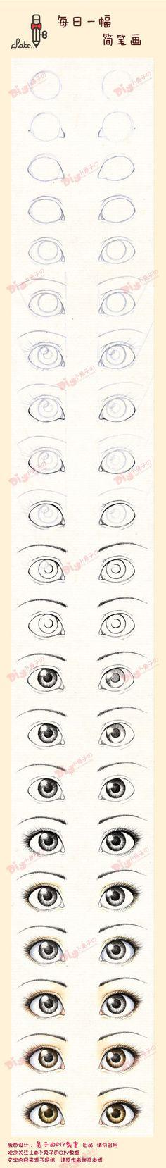 ojos manga