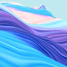 Waves on Behance