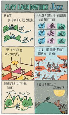 Grant Snider - Play each day like jazz