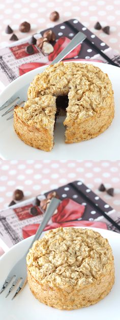 Chocolate Croissant Baked Oatmeal | The Breakfast Drama Queen