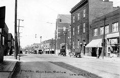 Detroit & Marlowe, Lakewood, Ohio., ca. 1913. Lakewood Ohio, Cleveland Rocks, Cityscapes, Detroit, Birth, Childhood, Boyfriend, Street View, United States