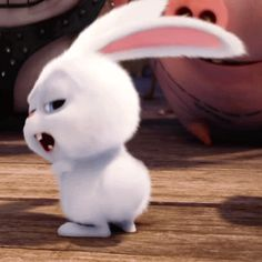 The perfect Bunny Snowball TheSecretLifeOfPets Animated GIF for your conversation. Discover and Share the best GIFs on Tenor. Cute Disney Wallpaper, Cartoon Wallpaper, Snowball Rabbit, Gif Mignon, Gif Lindos, Rabbit Gif, Cute Love Gif, Secret Life Of Pets, Animation