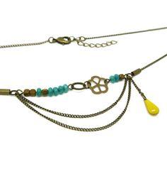 Mon bijou facile: Tutoriel création collier Essali