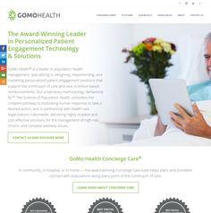 WordPress site gomohealth.com uses the Skillful Child Theme wordpress website template