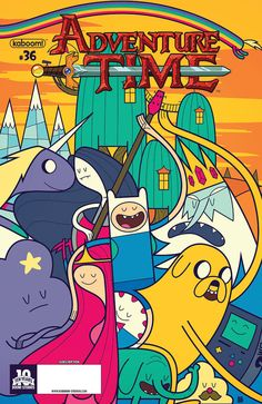 Adventure Time #36 - [Untitled]; Grand Prize (Issue)