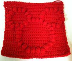 Mickey Mouse Bobble Chart Free pattern by Kari Philpott Bobble Stitch Crochet, Crochet Chart, Crochet Motif, Love Crochet, Crochet Stitches, Crochet Baby, Knit Crochet, Disney Crochet Patterns, Crochet Disney