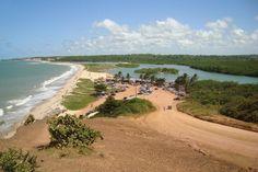 Praia da Barra do Gramame, em João Pessoa. Visite o BrasilGuias